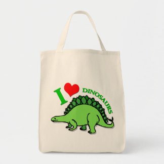 """I Heart Dinosaurs"" Tote Bag"