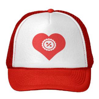 I Heart Discounts Icon Cap