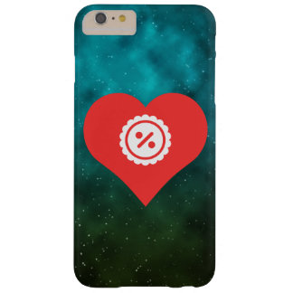 I Heart Discounts Icon Barely There iPhone 6 Plus Case