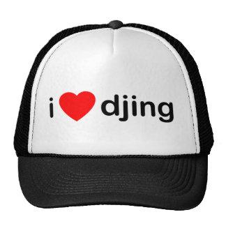 I Heart Djing Trucker Hat
