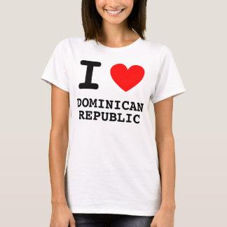 I Heart Dominican Republic Shirt