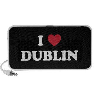 I Heart Dublin Ireland Mini Speakers