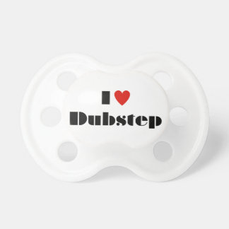 I heart dubstep pacifier