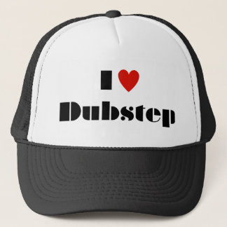 I Heart Dubstep Trucker Hat