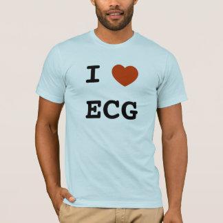 I heart ECG T-Shirt