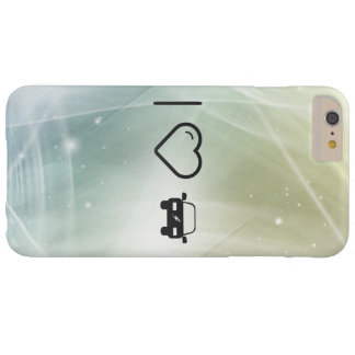 I Heart Eco Cars Barely There iPhone 6 Plus Case