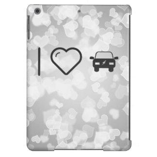 I Heart Eco Cars iPad Air Cases