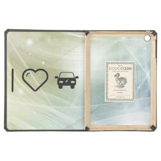 I Heart Eco Cars Case For iPad Air