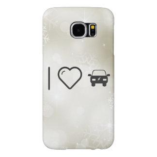 I Heart Eco Cars Samsung Galaxy S6 Cases