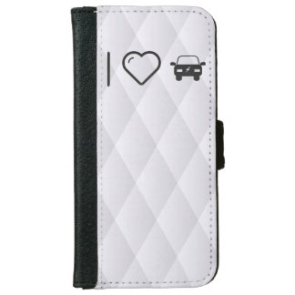 I Heart Eco Cars iPhone 6 Wallet Case