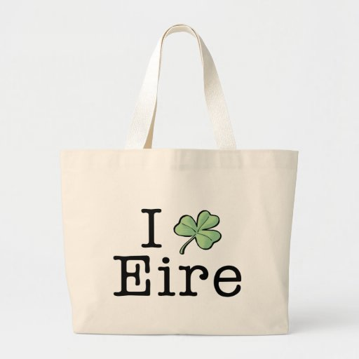 I Heart Eire Tote Bag