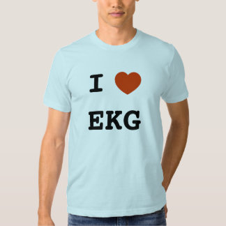 I heart EKG Tee Shirt