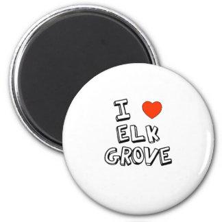 I Heart Elk Grove 6 Cm Round Magnet