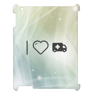 I Heart Emergency Vehicles Case For The iPad