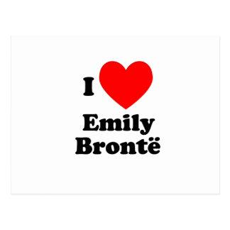 I Heart Emily Bronte Postcard