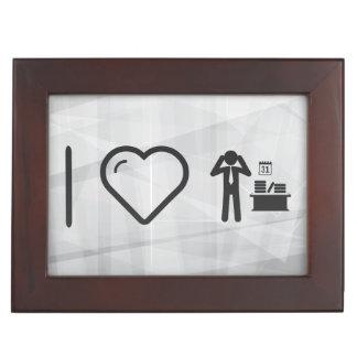 I Heart Employee Thinkers Memory Box