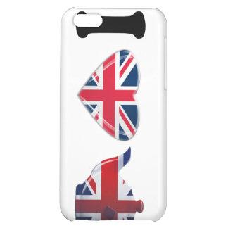 I Heart English Tea, Fun Patriotic Art iPhone 5C Covers