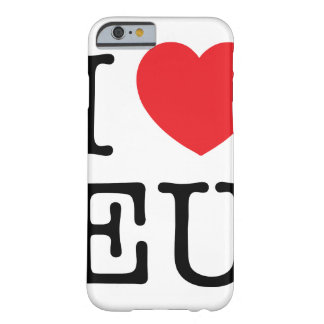 I Heart EU Iphone Protector Case