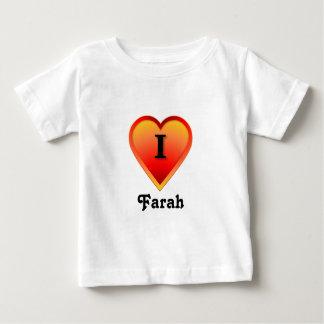 I heart Farah Baby T-Shirt