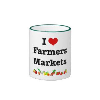 I Heart Farmers Markets Mugs