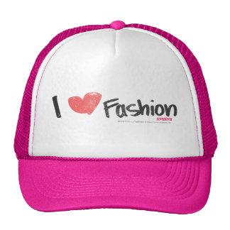 I Heart Fashion Purple Cap