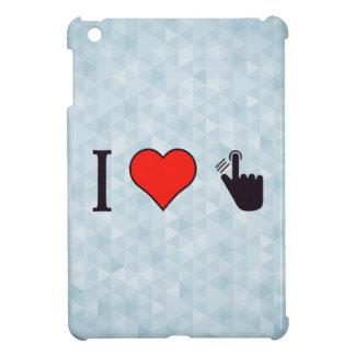 I Heart Fingerprints iPad Mini Covers