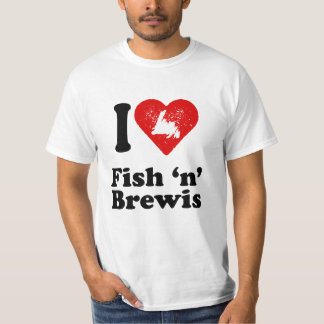 I heart Fish n Brewis T-Shirt