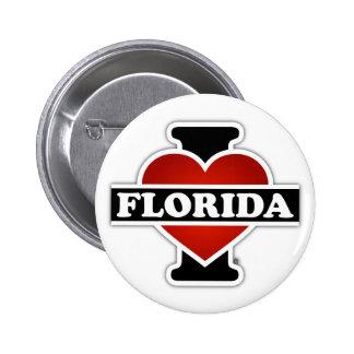 I Heart Florida 6 Cm Round Badge