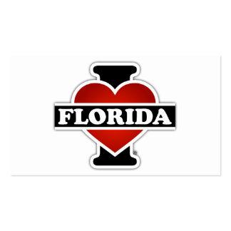 I Heart Florida Pack Of Standard Business Cards