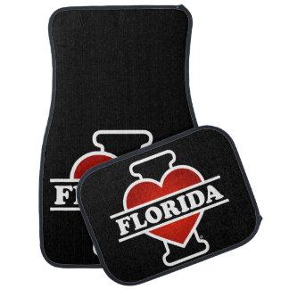 I Heart Florida Car Mat