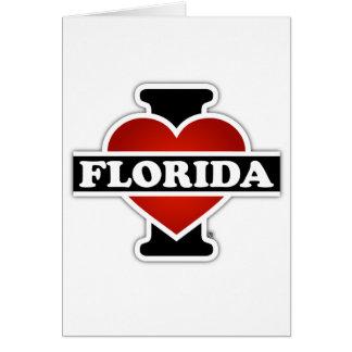 I Heart Florida Greeting Card