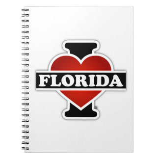I Heart Florida Spiral Note Book