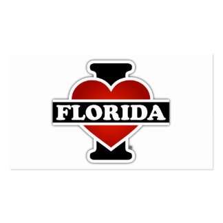 I Heart Florida Pack Of Standard Business Cards