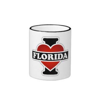 I Heart Florida Ringer Mug