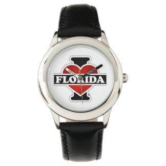 I Heart Florida Wrist Watches