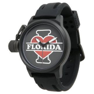 I Heart Florida Wrist Watches