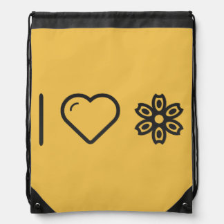I Heart Flower Spotters Backpack