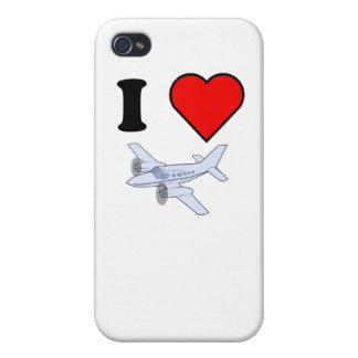 I Heart Flying iPhone 4 Case