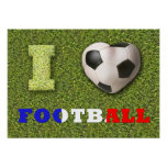 I Heart Football France - Poster