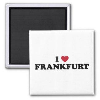I Heart Frankfurt Germany Magnet