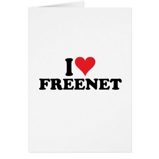 I Heart Freenet 1 Greeting Cards