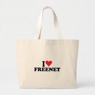 I Heart Freenet 1 Jumbo Tote Bag