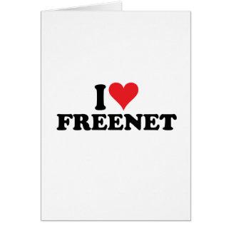 I Heart Freenet 1 Note Card