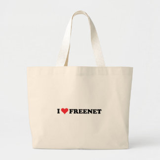 I Heart Freenet 2 Canvas Bags