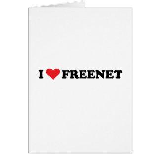 I Heart Freenet 2 Note Card