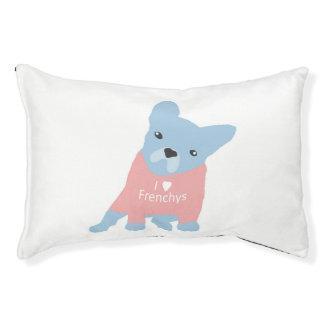 I Heart Frenchys Dog Bed