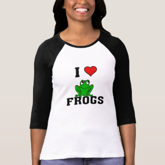 I Heart Frogs Shirts