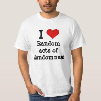 I heart funny random acts of randomness T-Shirt