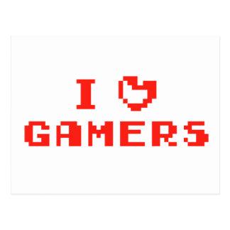 I Heart Gamers Postcards