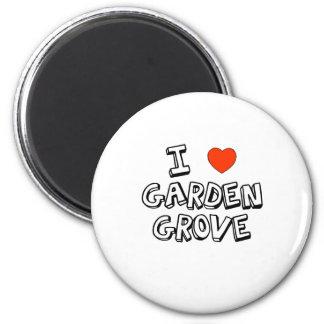 I Heart Garden Grove 6 Cm Round Magnet